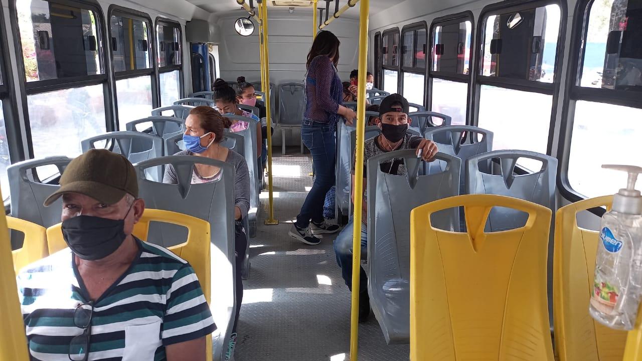 Realizan revisión más fuerte en autobuses del sistema público de transporte
