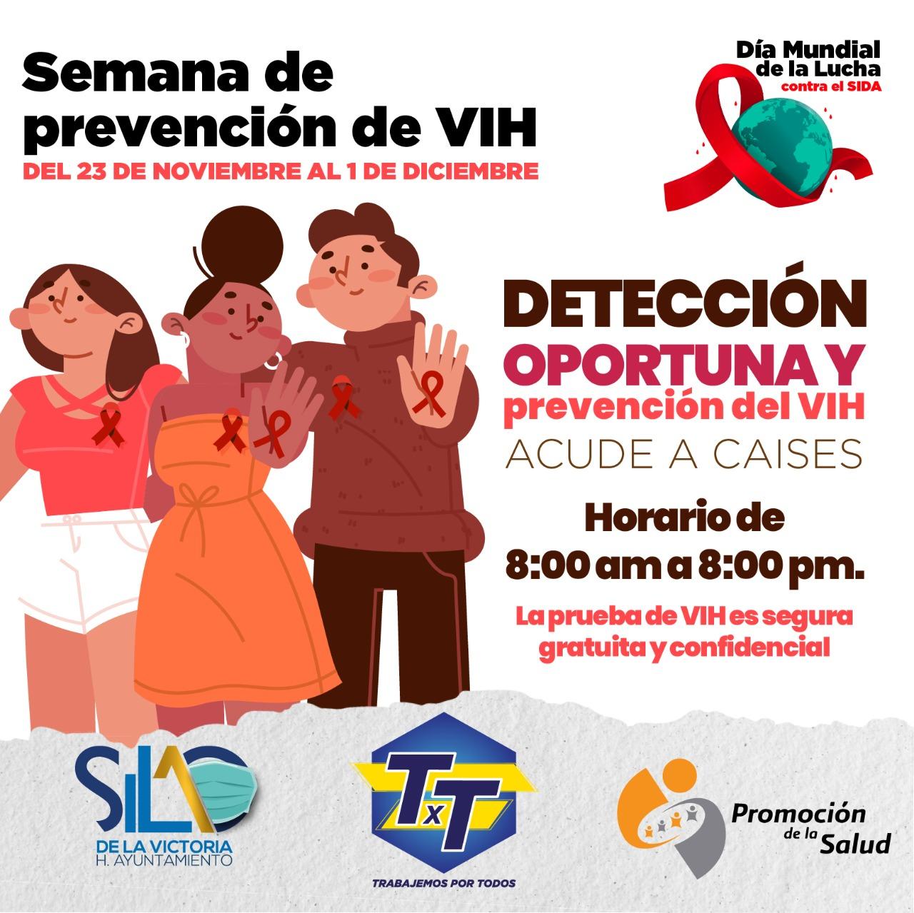 Invitan a realizar prueba gratuita de VIH