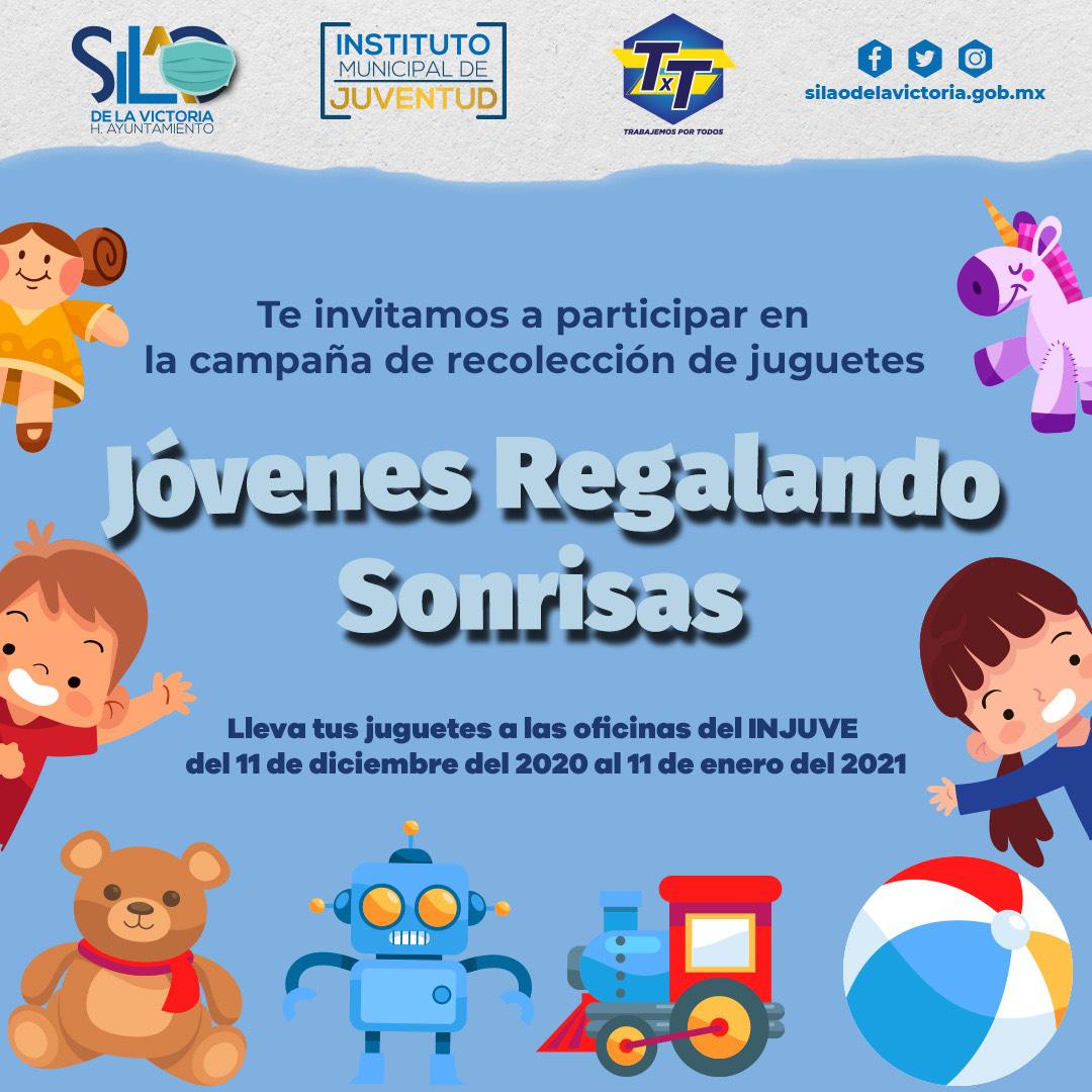 Niñas y niños esperan recibir a los Reyes Magos, dona un juguete