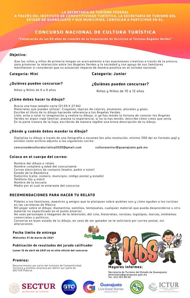 Celebra 60 años los Ángeles Verdes con concurso de dibujo