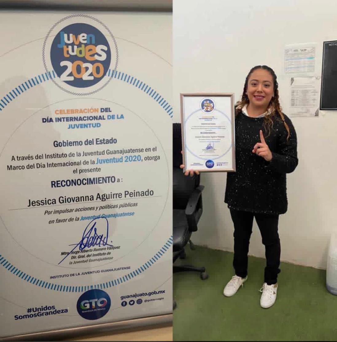 Reconocen trabajo y esfuerzo del Instituto de la Juventud en Silao