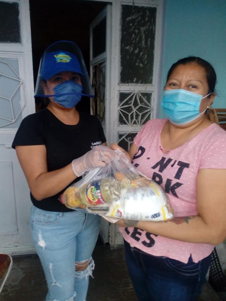 Continúa la entrega de paquetes básicos alimentarios para las familias vulnerables de colonias y comunidades