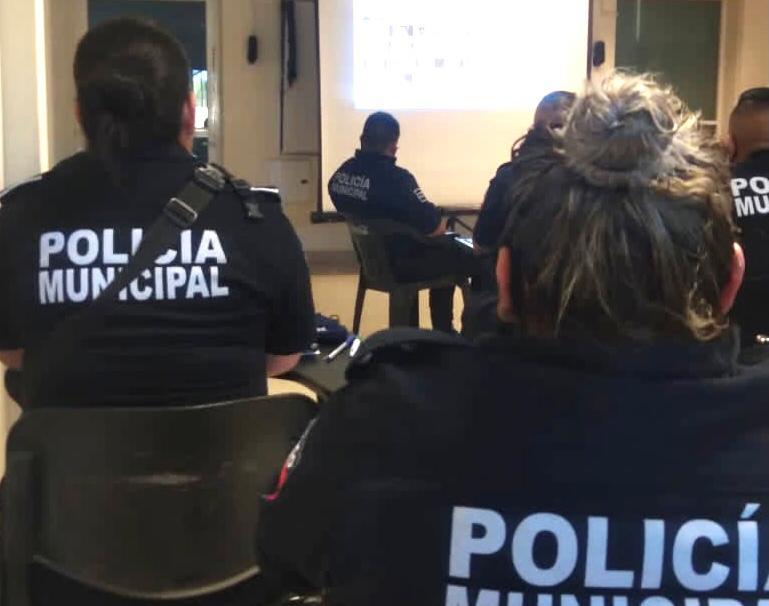 Fortalecen IMUG y Seguridad Pública del Estado a la Unidad municipal de género