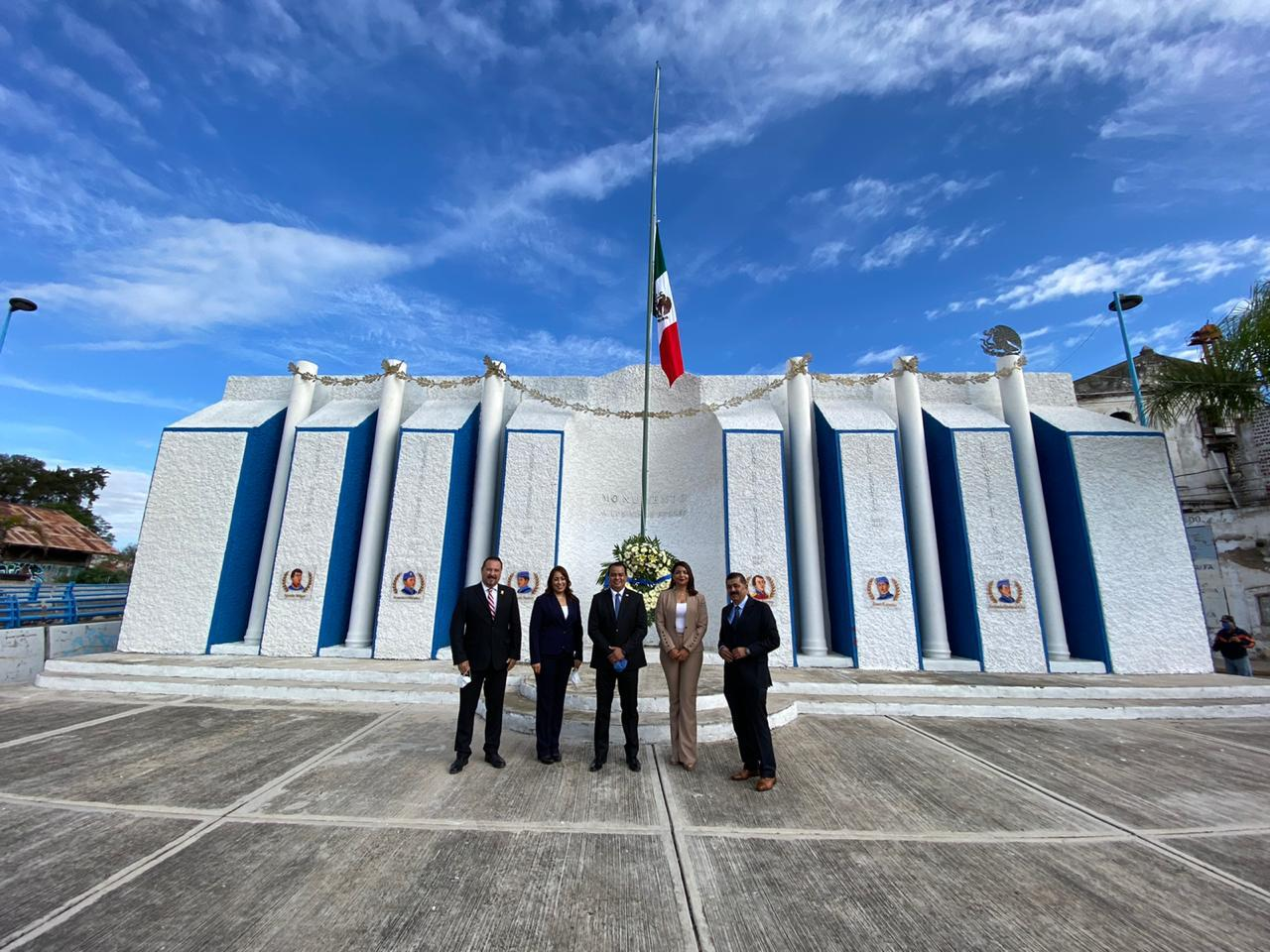 Conmemoran el 173 Aniversario de la Gesta de los Niños Héroes en castillo de Chapultepec
