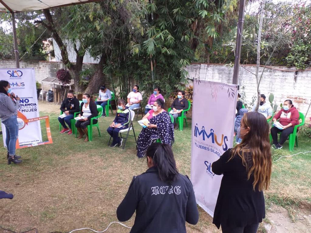Arrancan actividades en el marco del Día Internacional de la Eliminación de la Violencia contra la Mujer