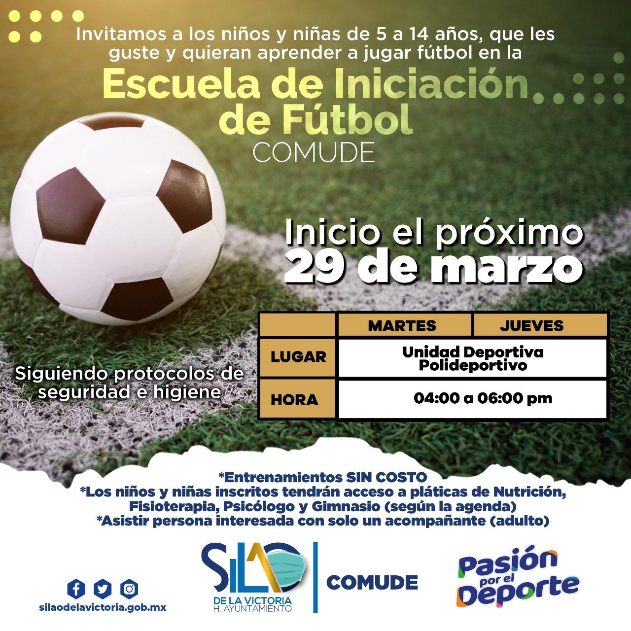 Comude invita a torneos de fútbol femenil y varonil
