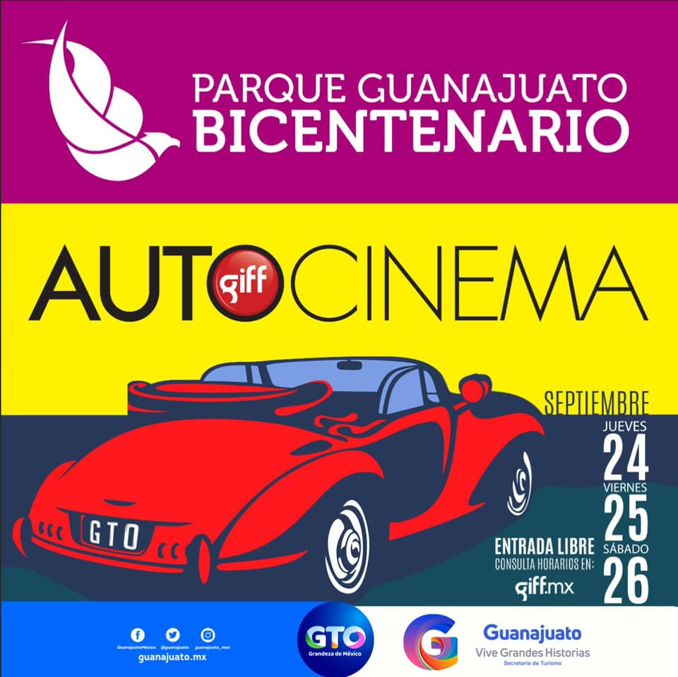 Llega a Silao Autocinema por Festival Internacional de Cine Guanajuato
