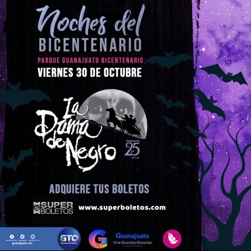"""Llega obra de teatro """"La Dama de Negro"""" a Parque Guanajuato Bicentenario"""