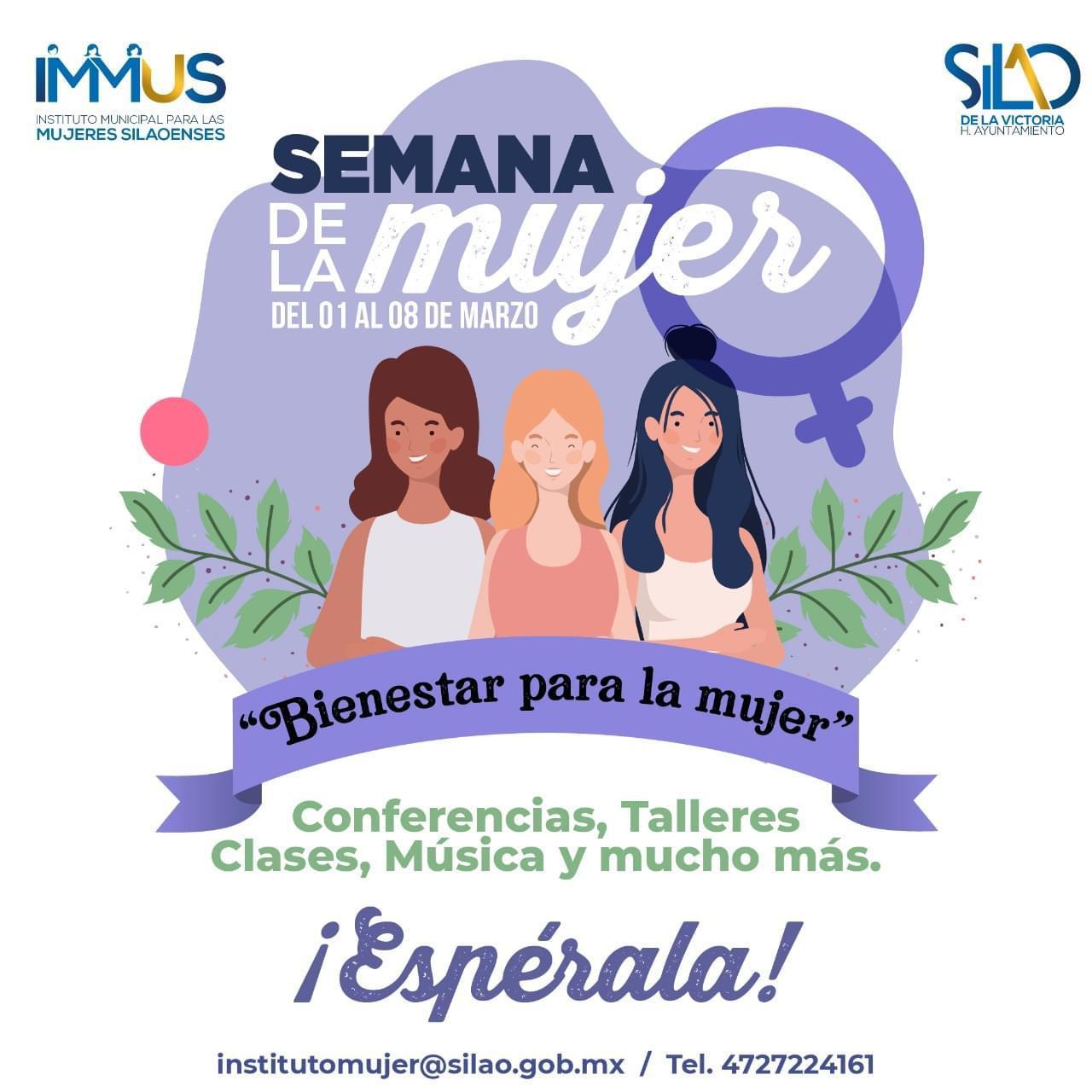Conmemorarán de forma virtual por el Día Internacional de la mujer