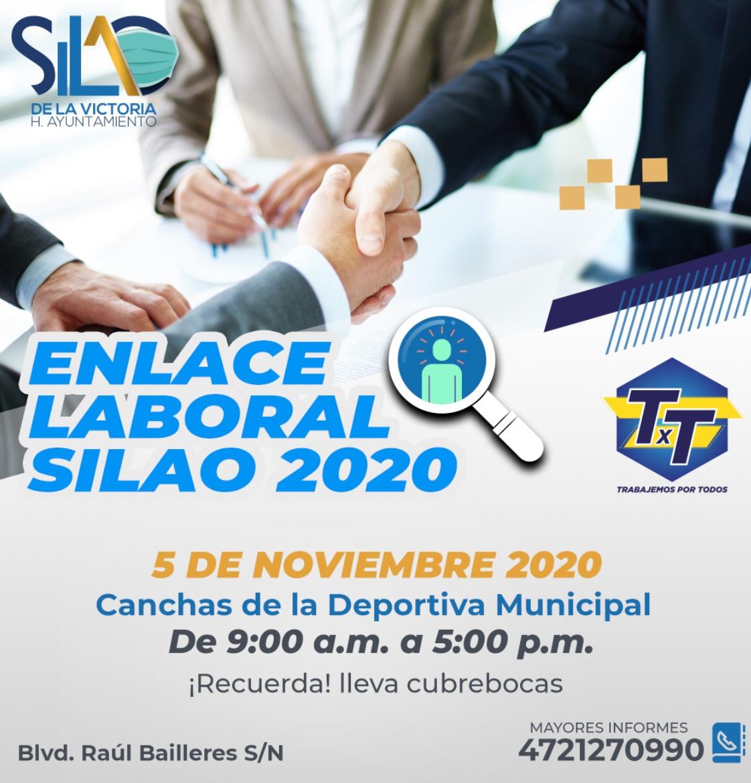 """Convocan a interesados a la feria de """"Enlace Laboral Silao 2020"""""""