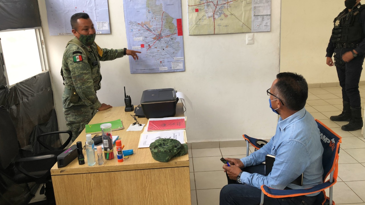 Refrenda Ramos coordinación interinstitucional con el Ejército