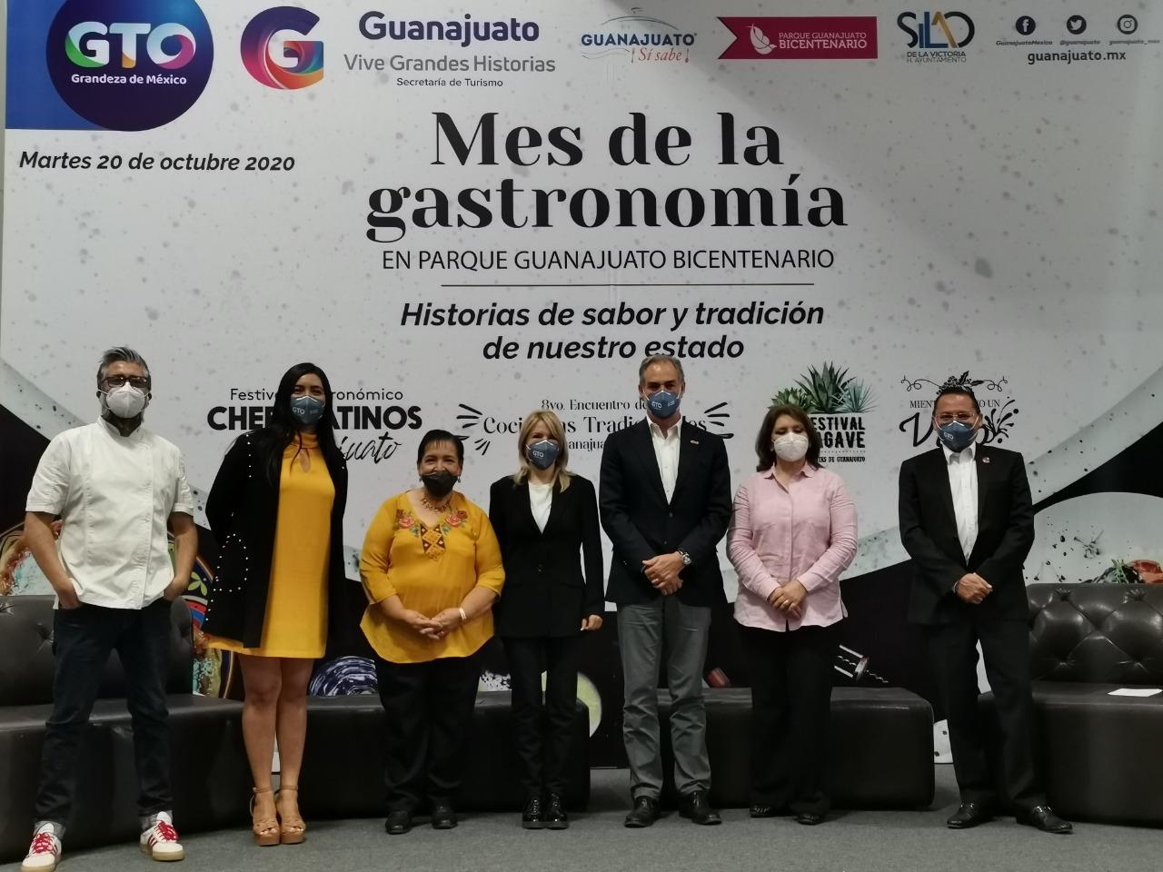 Invitan al Mes Gastronómico en Parque Guanajuato Bicentenario