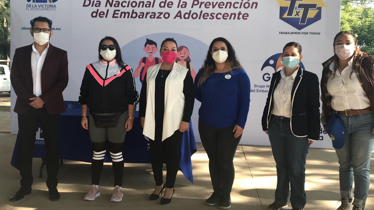 Conmemoran Día Nacional de Prevención del Embarazo Adolescente