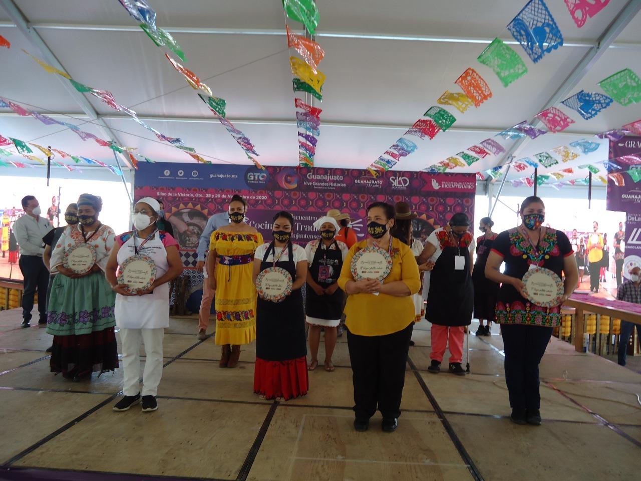 Concluye 8° Encuentro de Cocineras Tradicionales Guanajuatenses