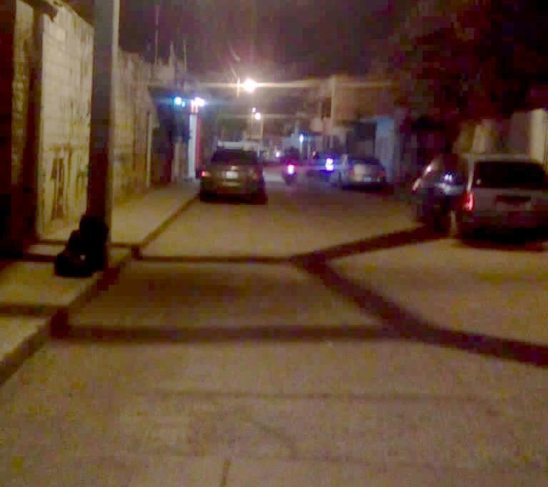 Ponches sin aglomeraciones en barrio La Piedad