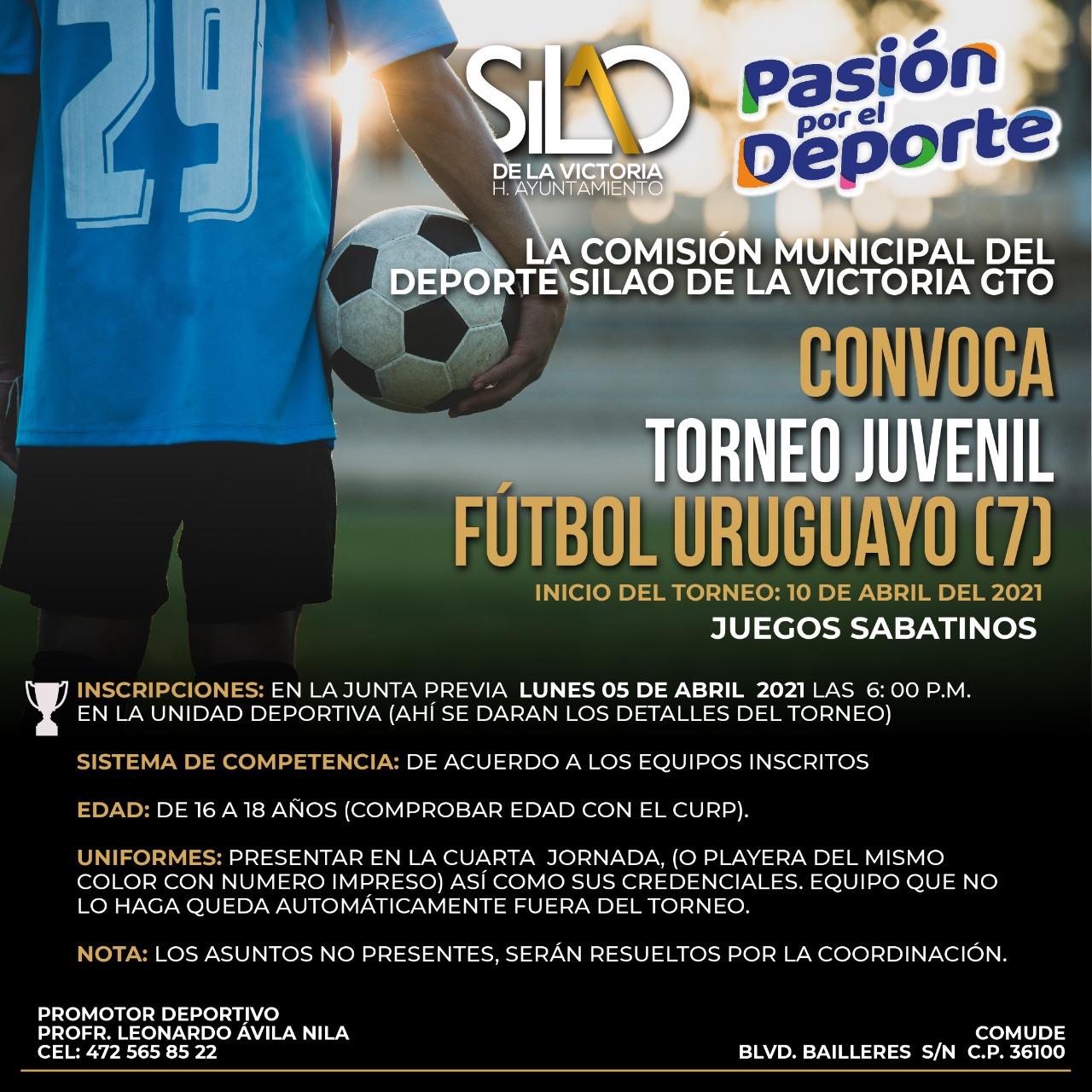 Invitan a los torneos juvenil y Prepa-Universitario de fútbol  uruguayo