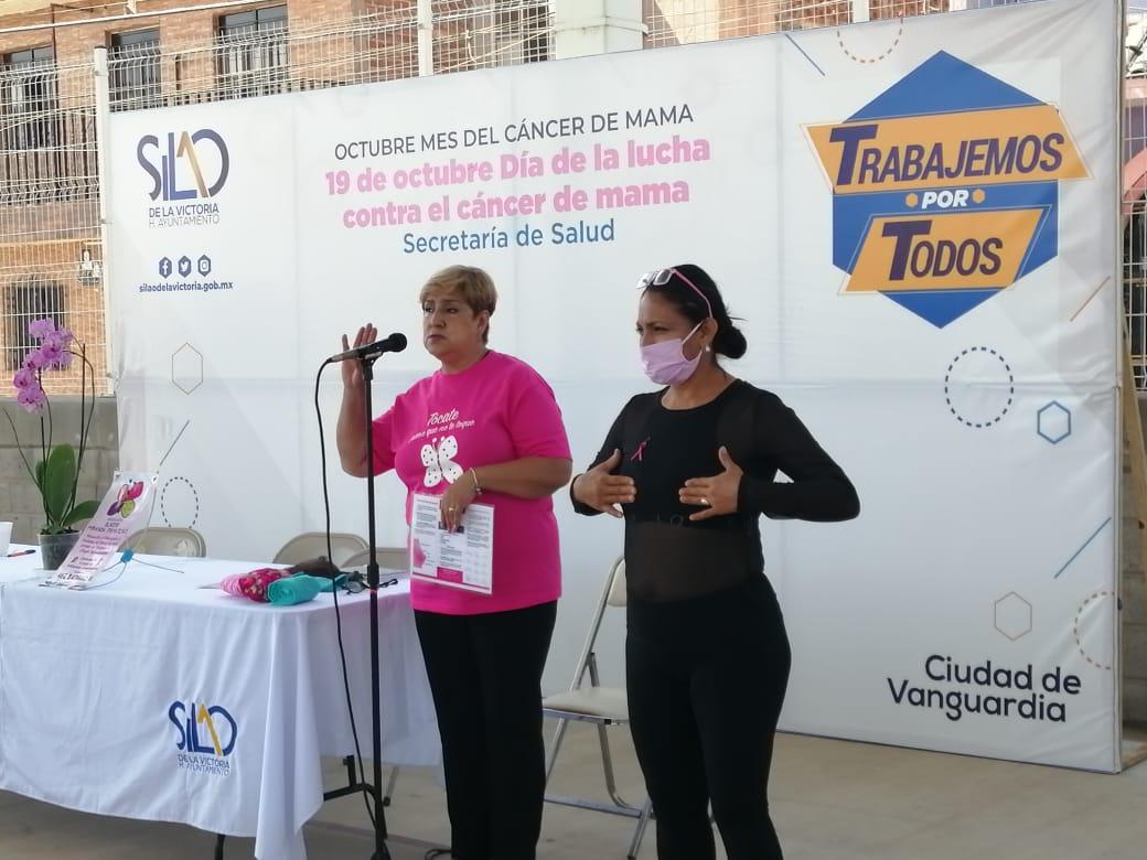 Reciben plática mujeres para prevenir el cáncer de mamá