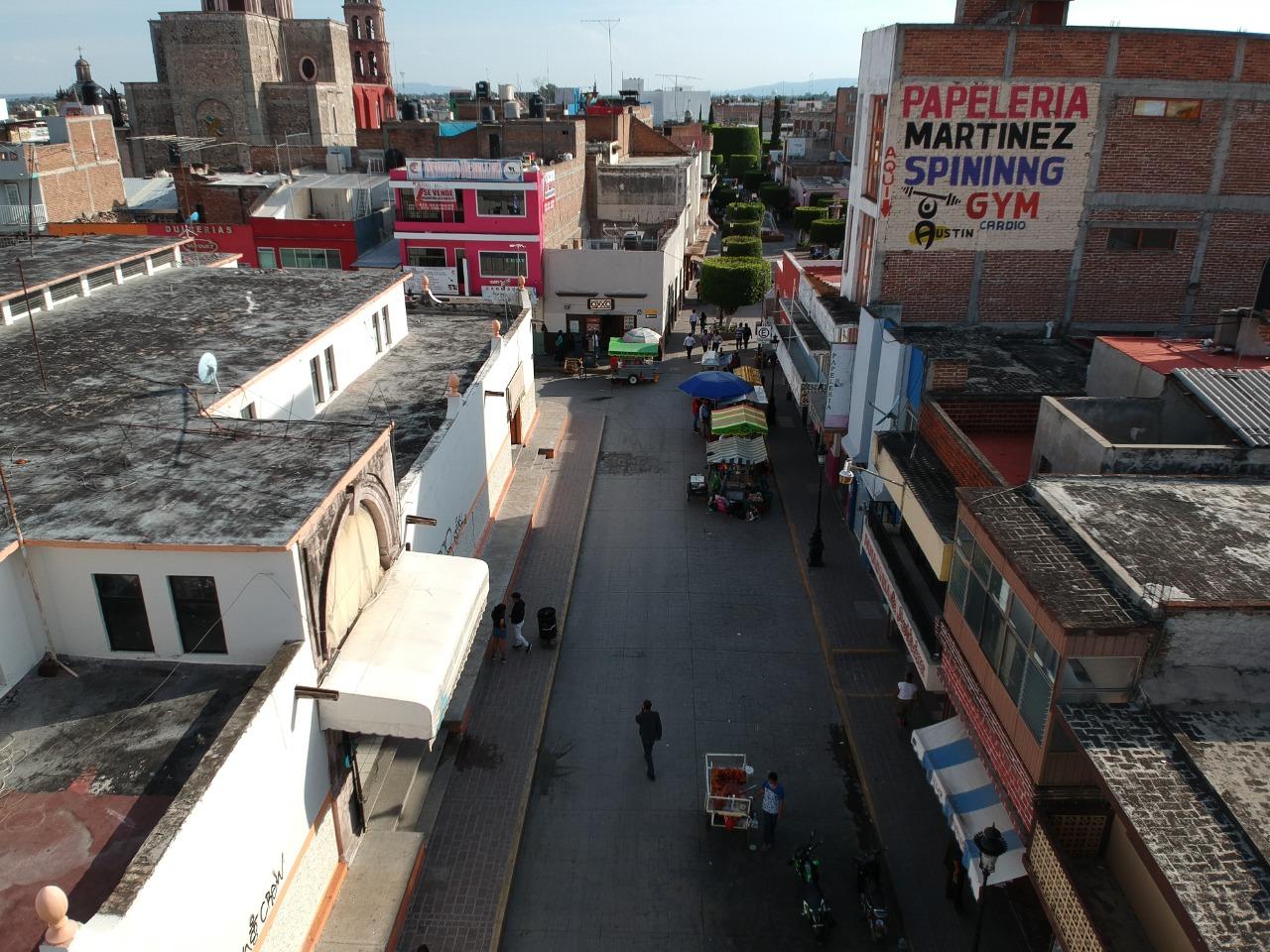 Analizan viabilidad de peatonalizar Morelos