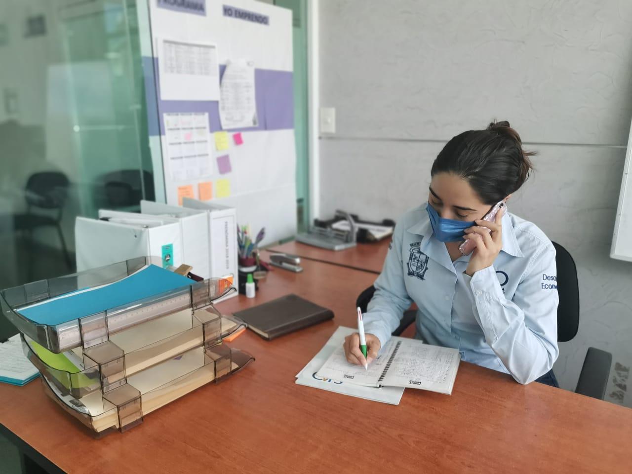 Recibe información sobre los programas todos los lunes en las oficinas de Capacitación y Empleo.