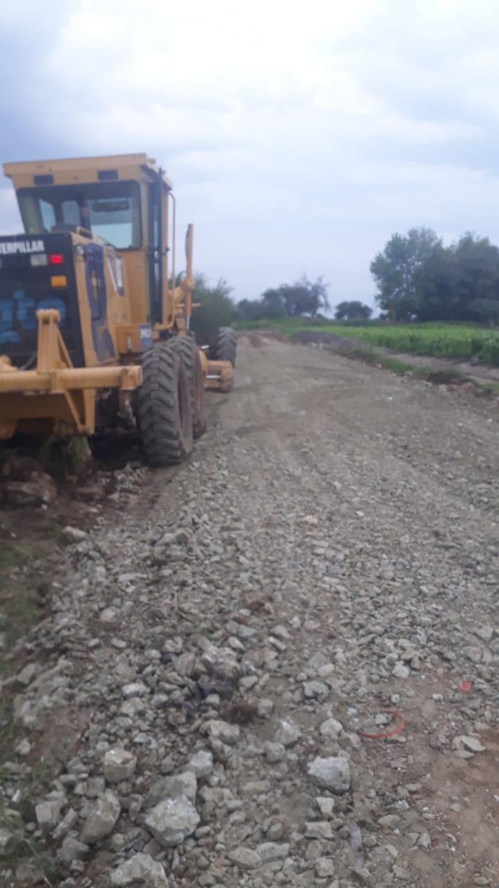 Municipio beneficia a Cerritos y San Franciscode Taboada al rehabilitar sus caminos