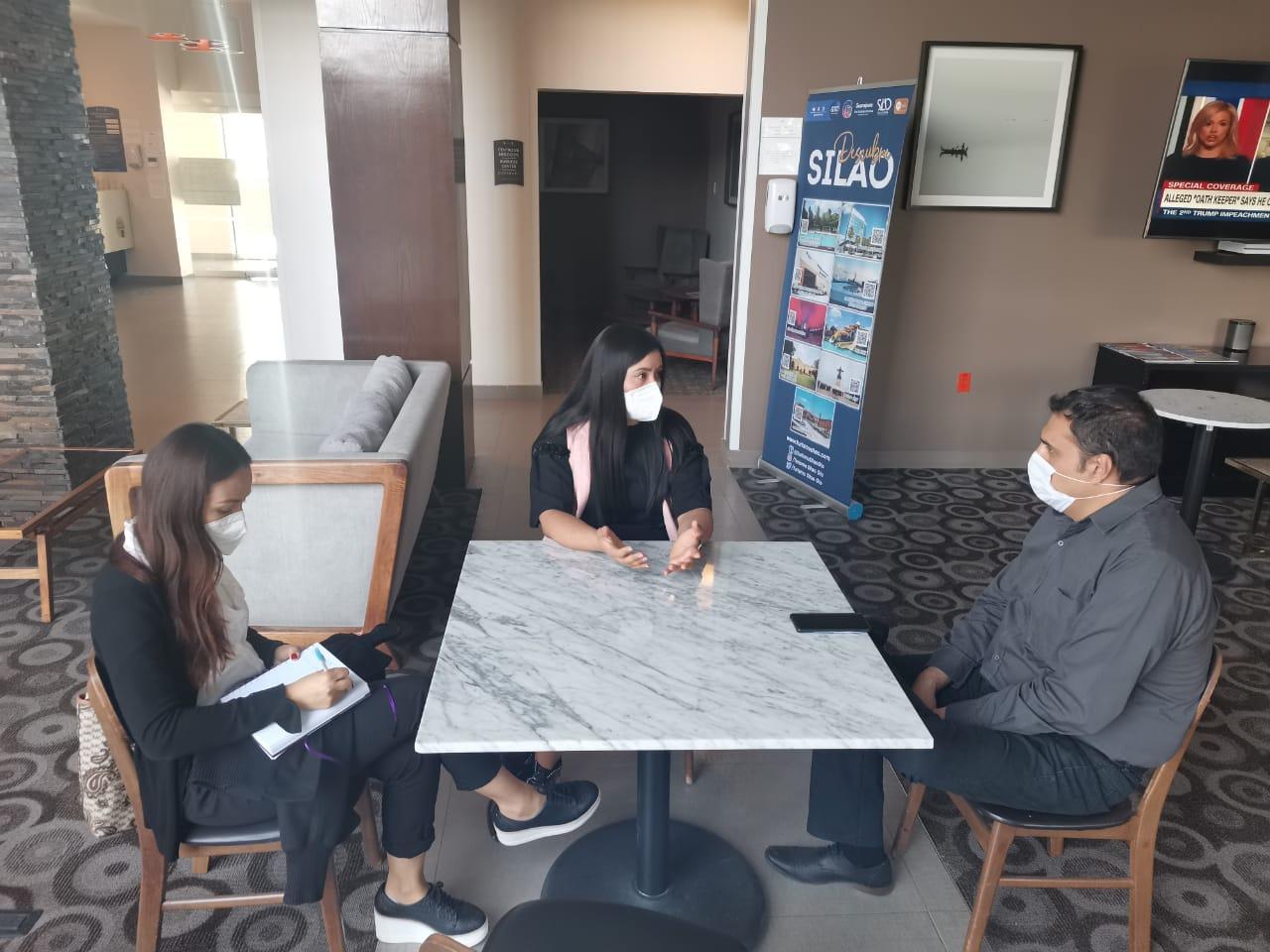 Fomento Económico se reúne con nuevo Presidente de la Asociación de Hoteles de Silao