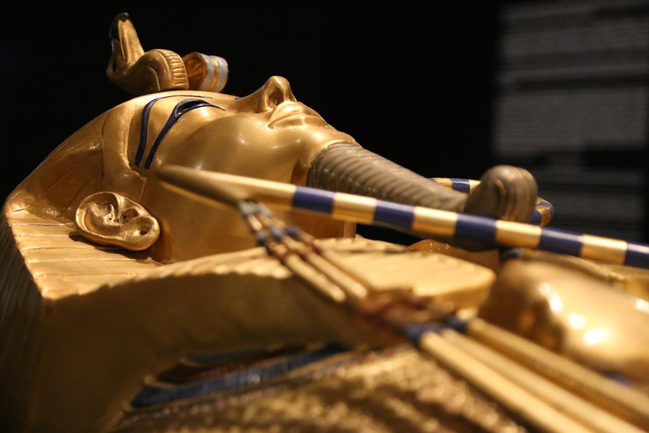 Invitan a disfrutar ¨Una noche en el museo con Tutankamón