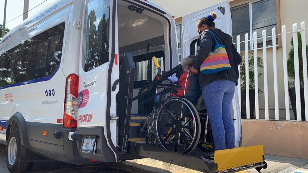 Transporte Adaptado para personas con discapacidad cuenta con nuevo horario